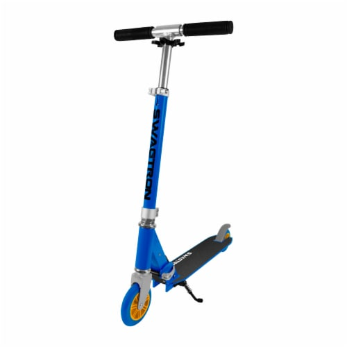Swagtron K1 Two Wheel Adjustable Kick Scooter Perspective: front