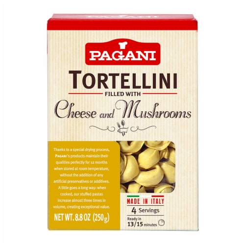 Italian Tortellini Mushroom and Cheese 8.8 oz (Pack of 4) Perspective: front