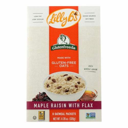 Glutenfreeda Maple Raisin Instant Oatmeal Perspective: front