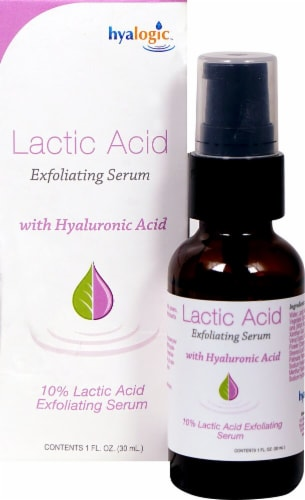 Hyalogic Hyaluronic & Lactic Acid Exfoliating Serum Perspective: front