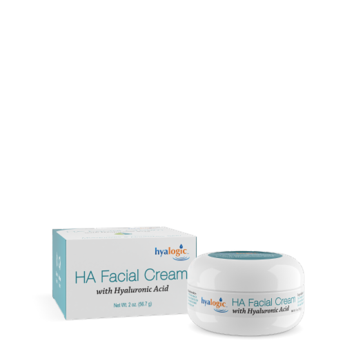 Ha Facial Cream with Hyaluronic Acid Perspective: front