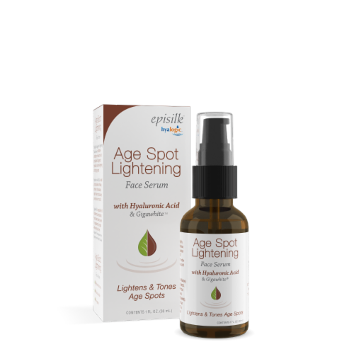 Age Spot Lightening Face Serum with Hyaluronic Acid Perspective: front