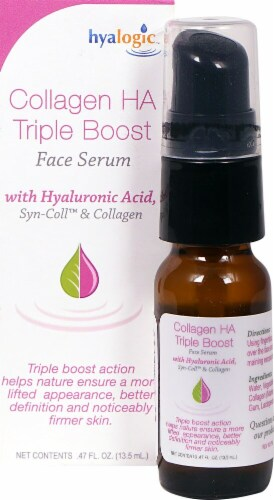 Hyalogic Collagen HA Triple Boost Face Serum Perspective: front