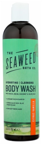 The Seaweed Bath Co. Citrus Vanilla Body Wash Perspective: front