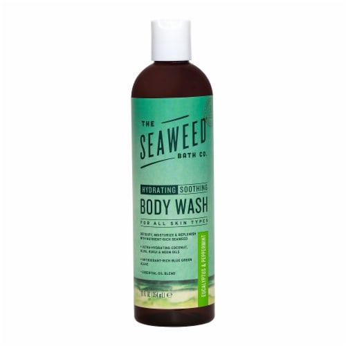 The Seaweed Bath Co. Eucalyptus & Peppermint Body Wash Perspective: front