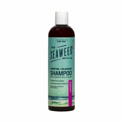 The Seaweed Bath Co. Lavender Hydrating and Volumizing Argan Shampoo Perspective: front