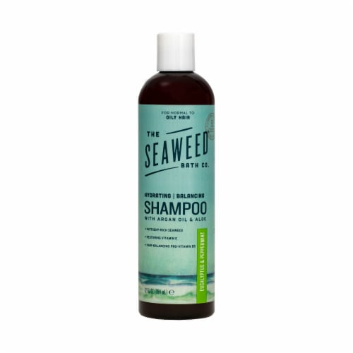 The Seaweed Bath Co Eucalyptus & Peppermint Balancing Shampoo Perspective: front