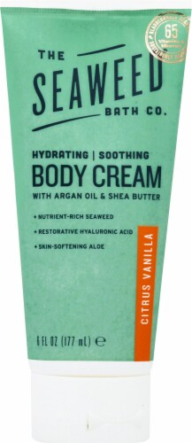 The Seaweed Bath Co. Citrus Vanilla Hydrating Soothing Body Cream Perspective: front