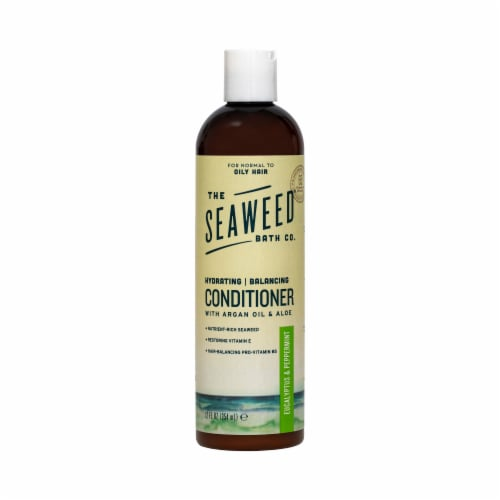 The Seaweed Bath Co Eucalyptus & Peppermint Balancing Conditioner Perspective: front