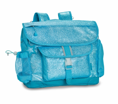 Bixbee Medium Sparkalicious Backpack - Turquoise Perspective: front