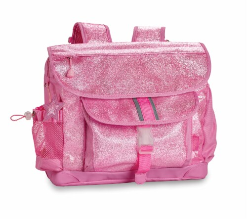 Bixbee Medium Sparkalicious Backpack - Pink Perspective: front