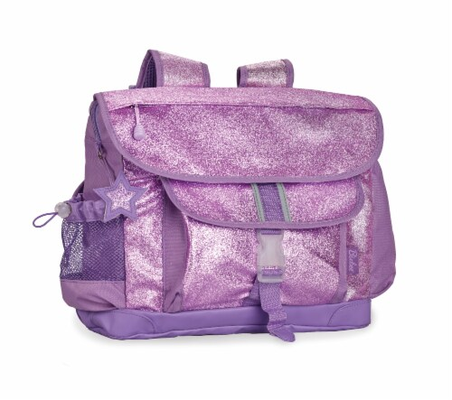 Bixbee Medium Sparkalicious Backpack - Purple Perspective: front