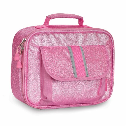 Bixbee Sparkalicious Lunchbox - Pink Perspective: front