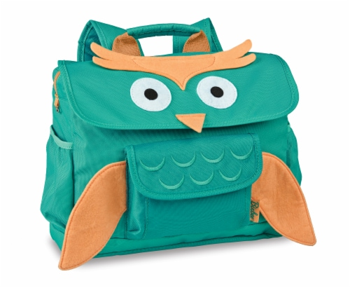 Bixbee Animal Pack Small Owl Backpack Perspective: front