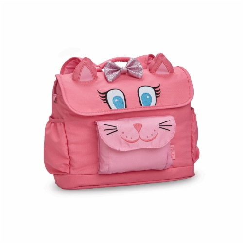 Bixbee Animal Pack Small Kitty Backpack Perspective: front