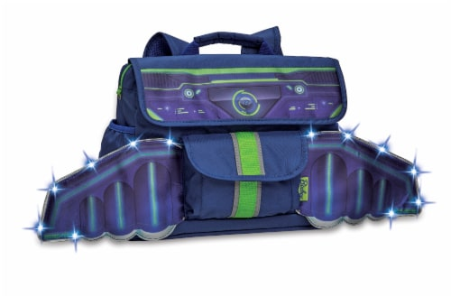 Bixbee LED Space Racer Backpack Perspective: front