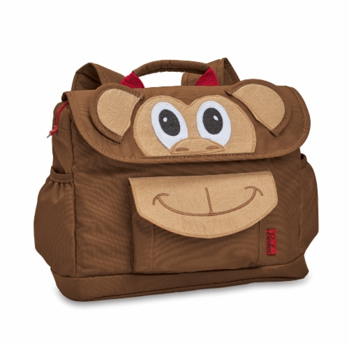Bixbee Animal Pack Small Monkey Backpack Perspective: front