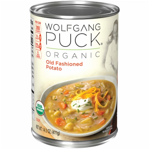 Wolfgang Puck Organic Old Fashioned Potato Soup Perspective: front