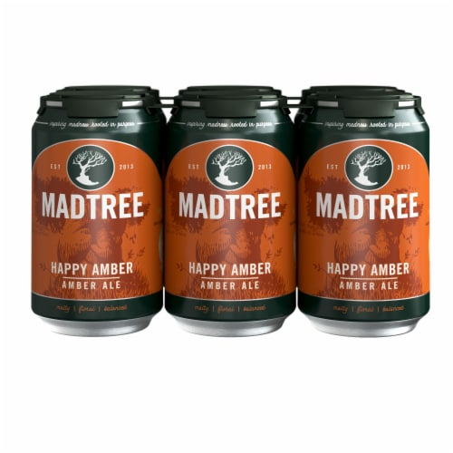 Madtree Brewing Company Happy Amber Ale Perspective: front