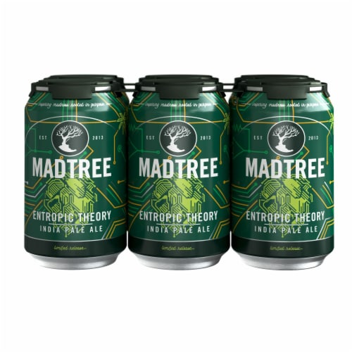 Madtree Brewing Company Entropic Theory India Pale Ale Perspective: front