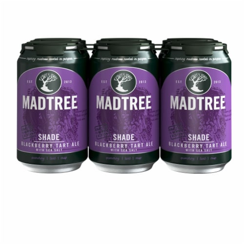 Madtree Brewing Company Shade Blackberry Tart Ale with Sea Salt Perspective: front