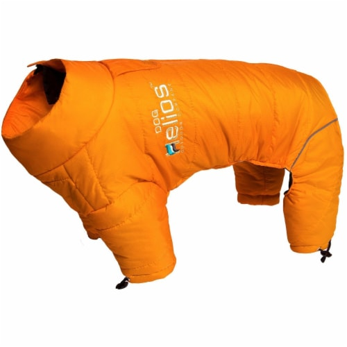 Pet Life JKHL6ORLG Helios Thunder-crackle Full-Body Waded-Plush Adjustable and 3M Reflective Perspective: front