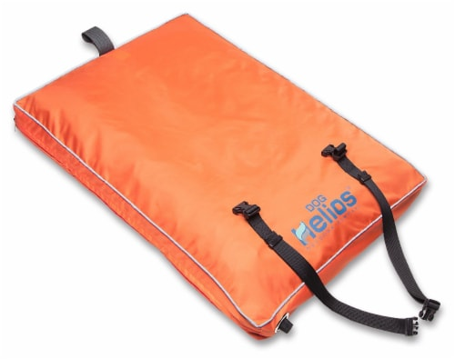 Dog Helios PB72ORSM Aero Inflatable Outdoor Dog Bed Mat, Orange - Small Perspective: front