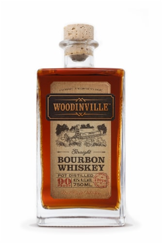 Woodinville Straight Bourbon Whiskey Perspective: front