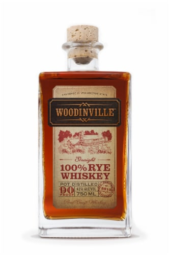 Woodinville Straight Rye Whiskey Perspective: front
