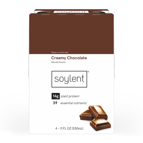 Soylent Creamy Chocolate Ready-to-Drink Meal Perspective: front