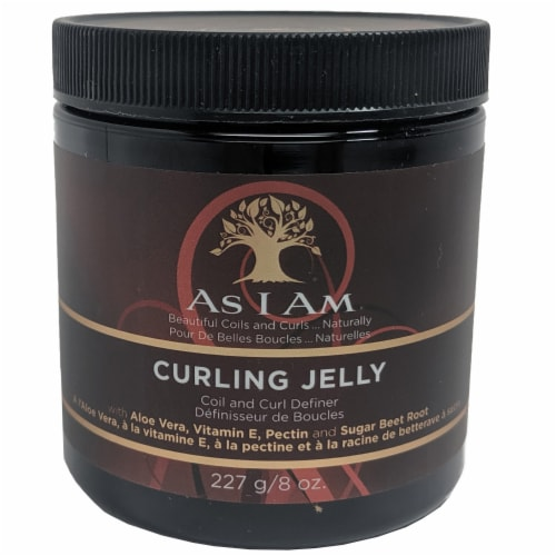 As I Am Curling Styling Jelly Perspective: front
