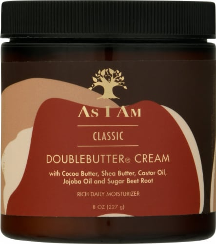 As I Am Double Butter Cream Hair Treatment Perspective: front