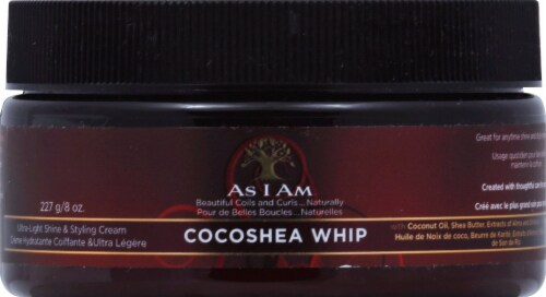 As I Am Cocoshea Whip Styling Cream Perspective: front