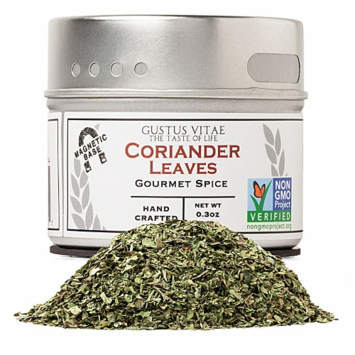 Gustus Vitae Gourmet Coriander Leaves Perspective: front