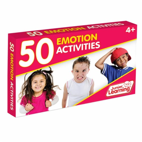 Junior Learning JRL357 50 Emotion Activity Cards Perspective: front