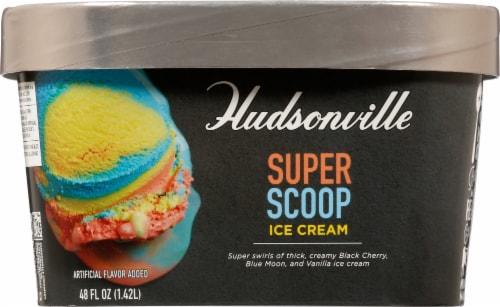 Hudsonville Premium Superscoop Ice Cream Perspective: front