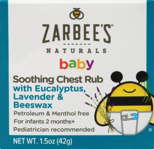 Zarbee's Naturals Baby Soothing Chest Rub Perspective: front