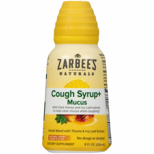 Zarbee's - Cough&mucus Syrup Daytime - 8 FZ Perspective: front