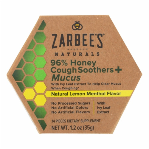 Zarbee's - Cough&mucus Sooth Hny Ivy - 1.2 FZ Perspective: front