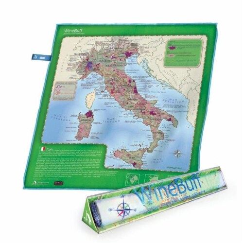 Soireehome Winebuff Italy Towel Perspective: front