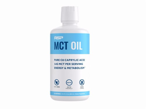 RSPNutrition  MCT Oil Keto Friendly   Unflavored Perspective: front