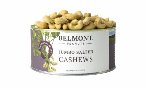 Belmont Peanuts Cashews Virginia Peanuts, 20 oz Perspective: front