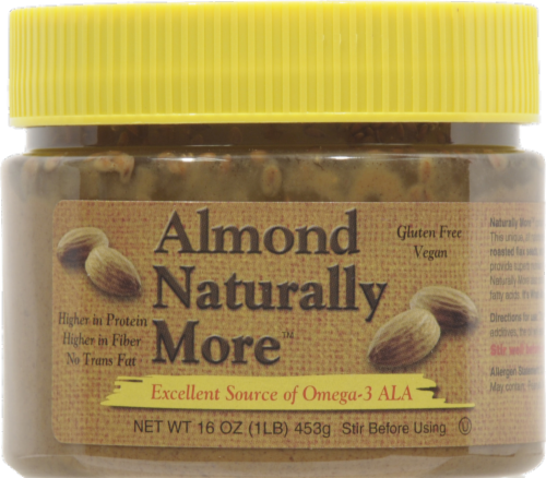 Almond Naturally More Almond Butter Perspective: front