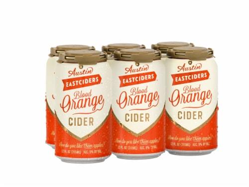 Austin Eastciders Blood Orange Cider Perspective: front