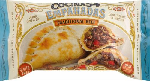 Cocina 54 Traditional Beef Empanadas Perspective: front