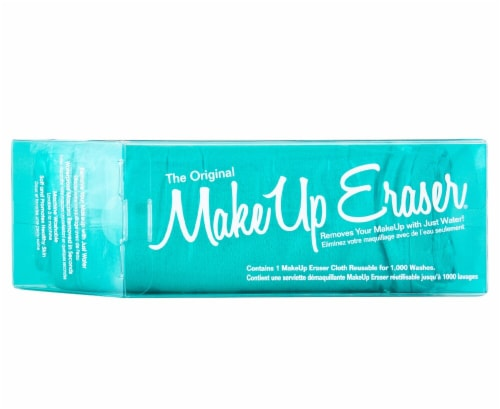 MakeUp Eraser Turquoise Makeup Remover Cloth Perspective: front