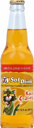 D&G Jamaican Kola Champagne Flavored Soda Perspective: front