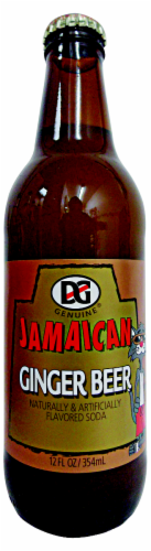 D&G Jamaican Ginger Beer Soda Perspective: front