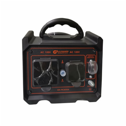 Green-Power GN-PK3050A Get Double Power Output with Combinding Two Inverter Generators Parall Perspective: front