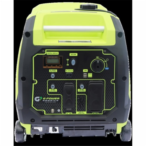 Green-Power GN4500iPW 4500-3600W Starting & Running Inverter Continuous Generator Perspective: front